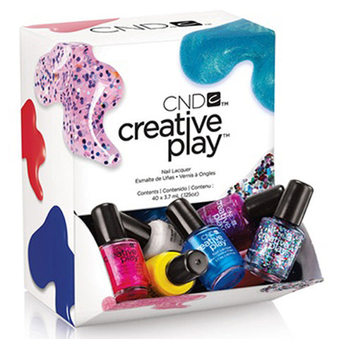 CND Creative Play Pinkies Lacquer 40ct
