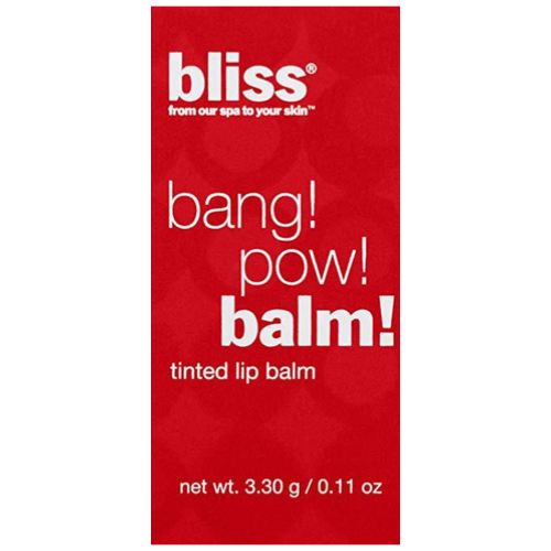 Bliss Bang Pow Tinted Lip Balm | Get Berried Away