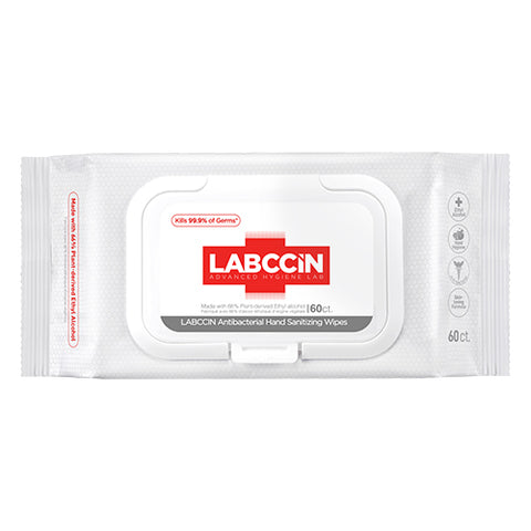 Labccin Antibacterial Hand Sanitizing Wipes 60ct
