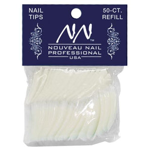 Nouveau Nail Professional Tip Refill Packs 50ct