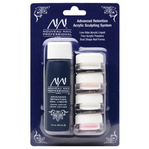 Nouveau Nail Low Odor Acrylic Sculpting System