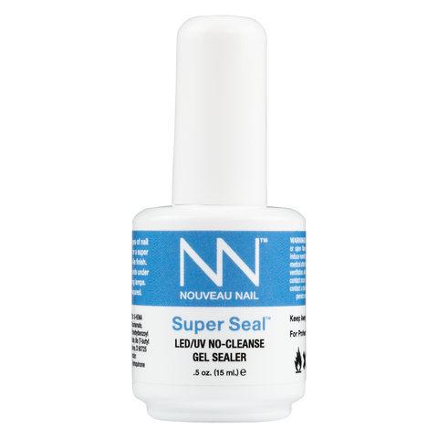 Nouveau Nail Super Seal LED/UV No-Cleanse Gel Sealer .5oz