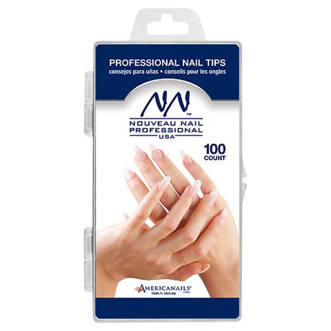 Nouveau Nail Professional Tips 100ct (10 sizes)