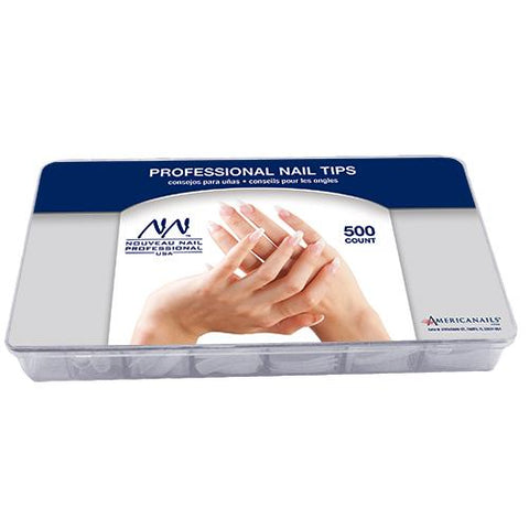 Nouveau Nail Professional Tips 500ct (10 sizes)