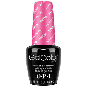 OPI GelColor | Hotter Than You Pink .5oz