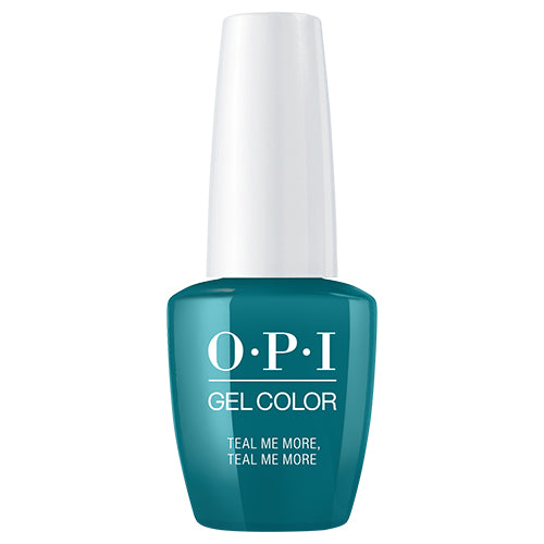 OPI GelColor | Teal Me More, Teal Me More .5oz