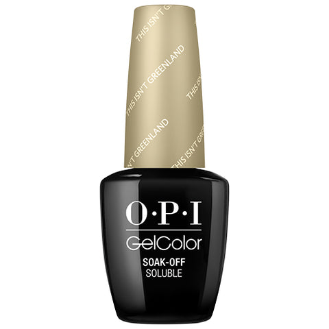 OPI GelColor | This Isn't Greenland .5oz