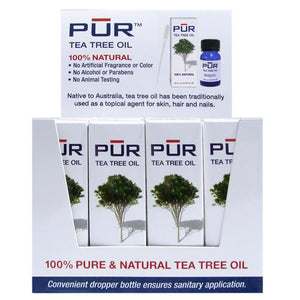 Nouveau Nail PUR Tea Tree Oil Display 12ct