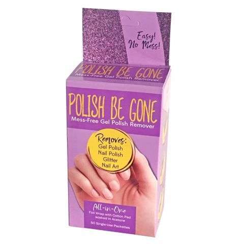 Polish Be Gone Mess-Free Gel Polish & Lacquer Remover