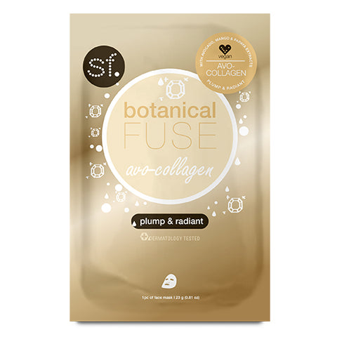 SFglow Botanical Fuse Sheet Mask | Avo-Collagen