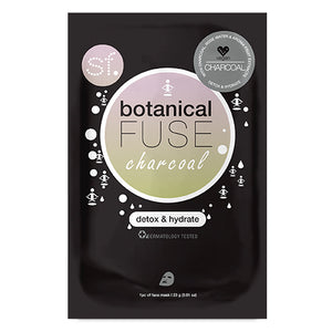 SFglow Botanical Fuse Sheet Mask | Charcoal