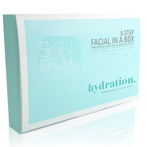 SFglow 6 Step Facial In A Box | Hydration, 3ct