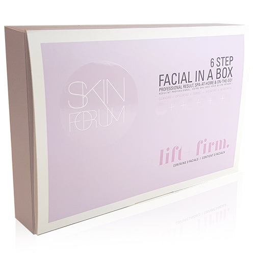 SFglow 6 Step Facial In A Box | Lift + Firm 3ct