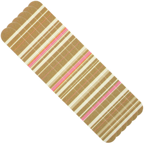 Tropical Shine Trendy Nail Files 6ct