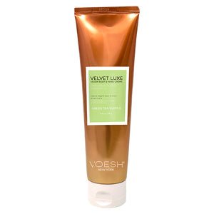 Velvet Luxe Body & Hand Cream | Green Tea Supple 8.5oz