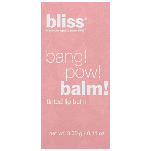 Bliss Bang Pow Tinted Lip Balm | Pink About It
