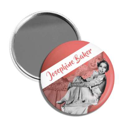 Josephine Baker Pocket Mirror
