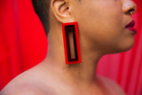 I Want It All Earrings (Red)