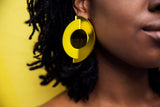Cyclone Earrings (Yellow)