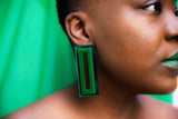 I Want It All Earrings (Green)