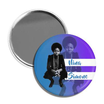 Nina Simone Pocket Mirror