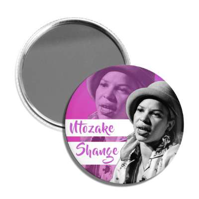 Ntozake Shange Pocket Mirror