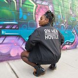 On Her Hustle Bomber Jacket