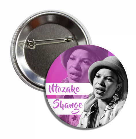Ntozake Shange Button