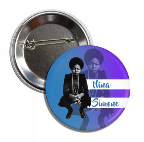 Nina Simone Button