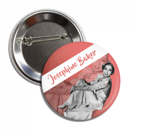 Josephine Baker Button