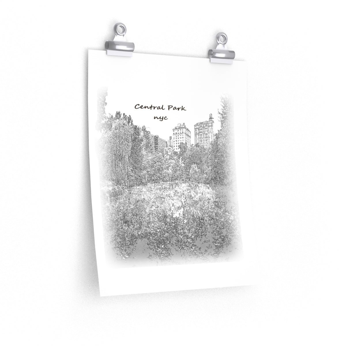 Central Park, New York City Poster - FORYOURCART