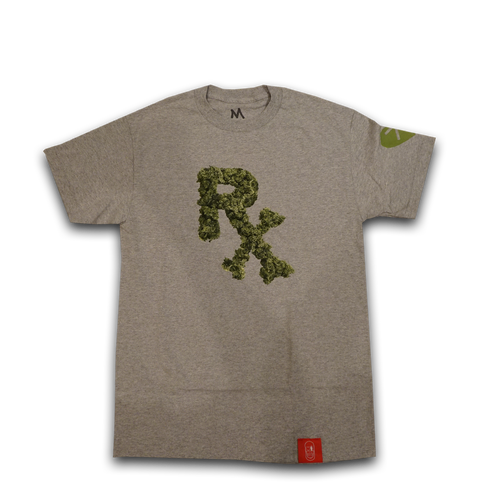 PX Bud Logo T-Shirt Heather Gray