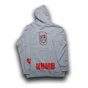 Long Gone Heather Gray Hoodie