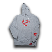 Load image into Gallery viewer, Long Gone Heather Gray Hoodie