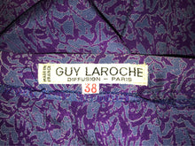 "Guy LaRoche Silk Blouse and Skirt Set, Size Small, Waist 26"", Girl Boss Skirt Set, Size SMALL"