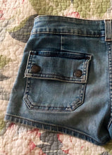 Distressed Abercrombie and Fitch Jean Shorts, Waist: 30""