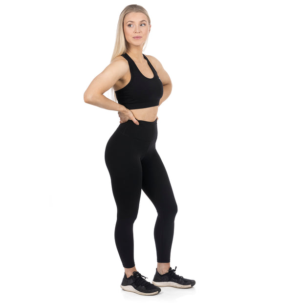 Sæunn svartar leggings