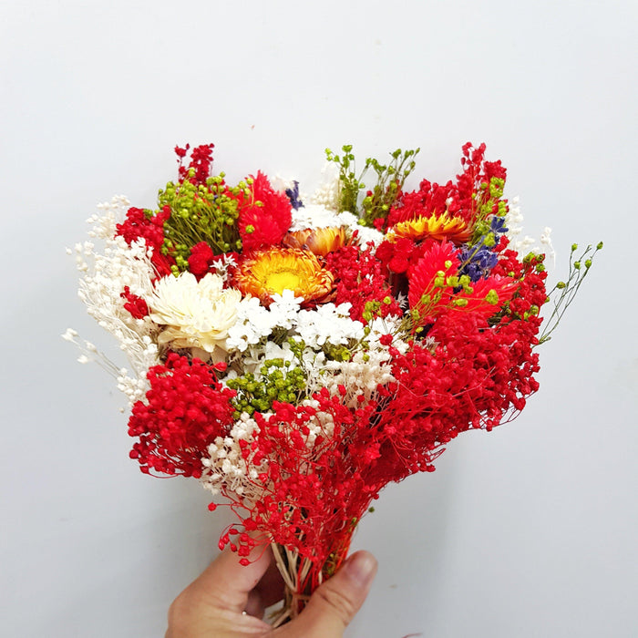 Dried Bouquet - Red