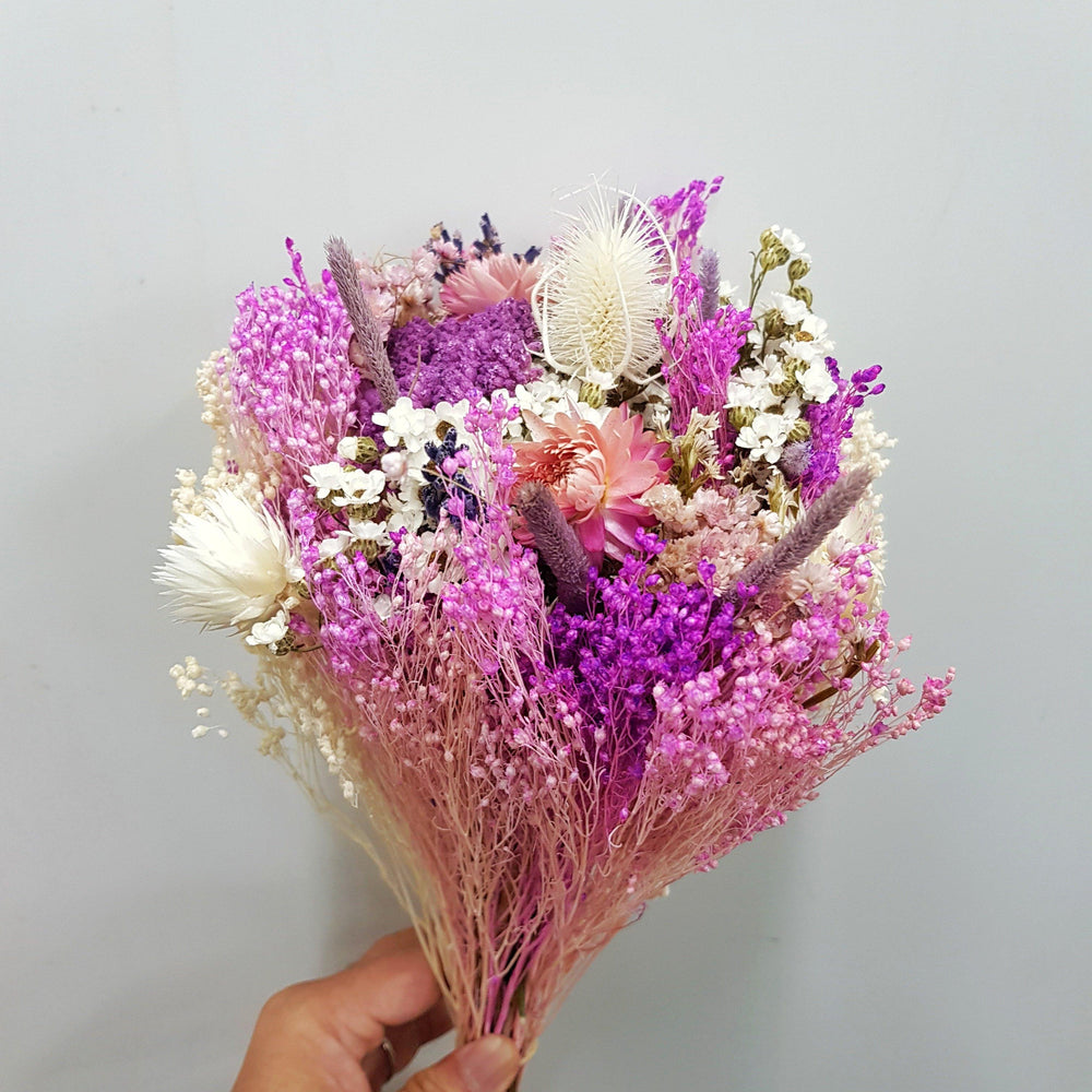 Dried Bouquet - Purple