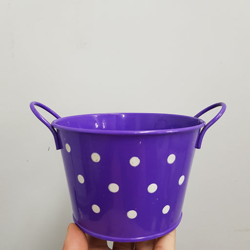 Metal Pot - Purple