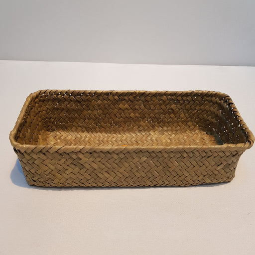 Rattan Rectangle Basket (S)