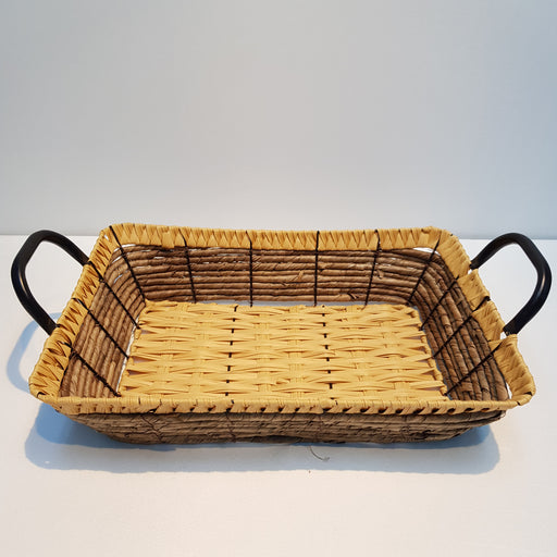 Rattan Rectangle Basket (L)