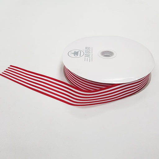 002 Ribbon (Red-White)