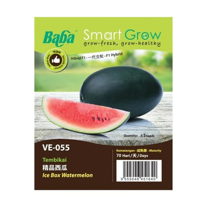 BABA Ve-Mix Seeds - Ice Box Watermelon