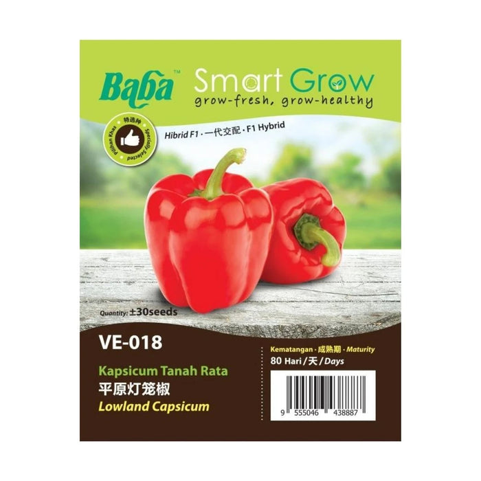 BABA Ve-Mix Seeds - Lowland Capsicum