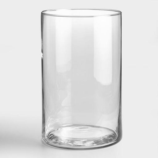 Glass Round Vase 12x20cm (Imported)