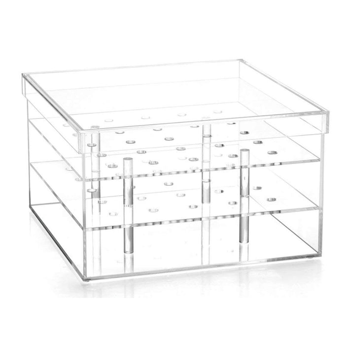 Crystal Box 16 Hole - Transparent