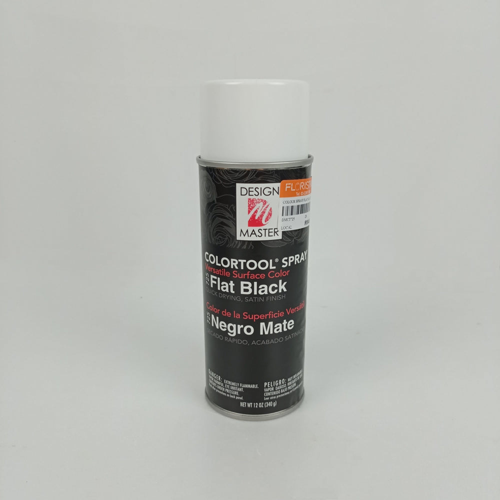 Colour Spray Flat Black