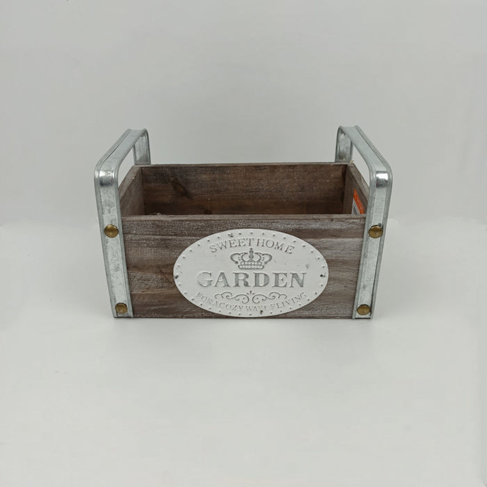 Square Wooden Box 001 (M)