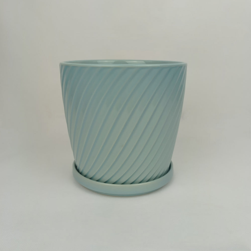 Ceramic Screw Pot (M)